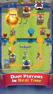 Arena yang Dipakai Pada Clash Royale