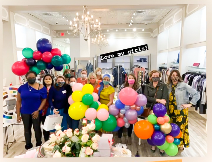 House of Colour Houston event at French Cuff Boutique