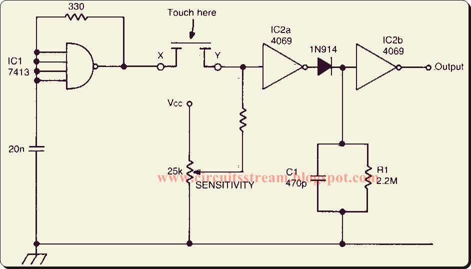 Hartley Oscillator Basic Schematic Circuit Diagram