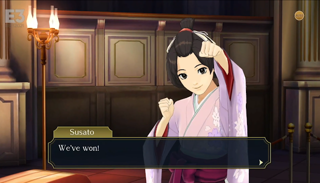 The Great Ace Attorney Chronicles Susato we've won CAPCOM E3 2021