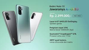 Spesifikasi Redmi Note 10 Indonesia (Review)