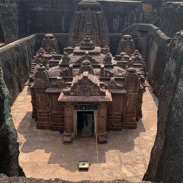 Dharmrajeshwar Temple – Hindu Temple Carved Out Of Single Rock