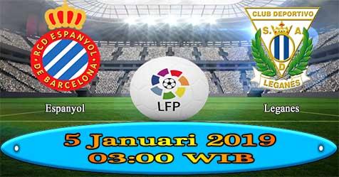 Prediksi Bola855 Espanyol vs Leganes 5 Januari 2019