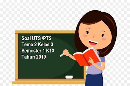Soal UTS /PTS Tema 2 Kelas 3 Semester 1 K13 Tahun 2019