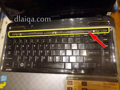 cover keyboard telah dilepas