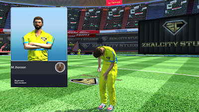 Cricket Career UI