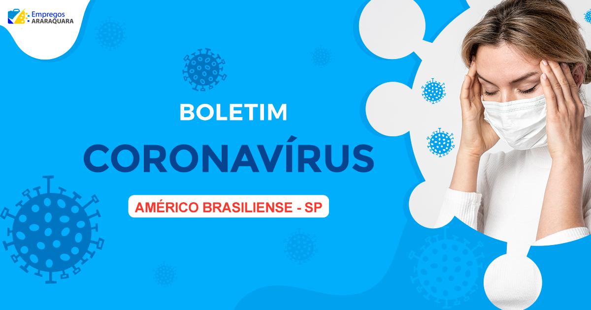 Boletim Coronavírus - Américo Brasiliense