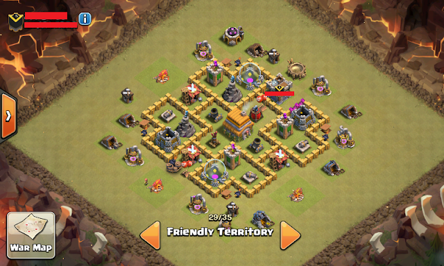 Base TH 6 TERKUAT Clash Of Clans