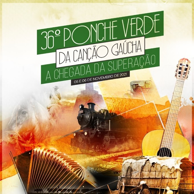 Definidas as músicas que estarão no palco do 36º Ponche Verde da Canção Gaúcha