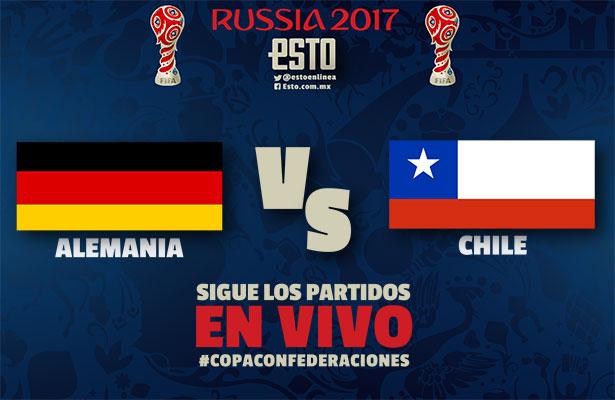 Ver Partido Chile vs Alemania EN VIVO Gratis Por Internet Hoy 02/07/2017