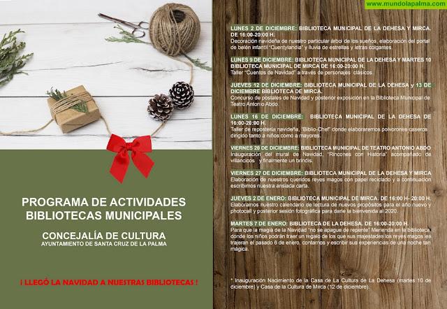 La Concejalía de Cultura presenta el programa de actividades navideñas en las bibliotecas municipales de La Dehesa y Mirca