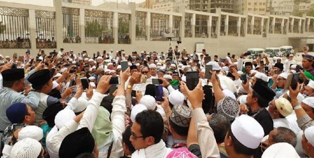 Kata PBNU soal Tuduhan 'Habib Rizieq Serobot Doa di Makam Mbah Moen'