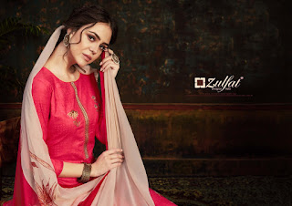 Zulfat Rosie Cotton Salwar Kameez Collection in Wholesale Rate