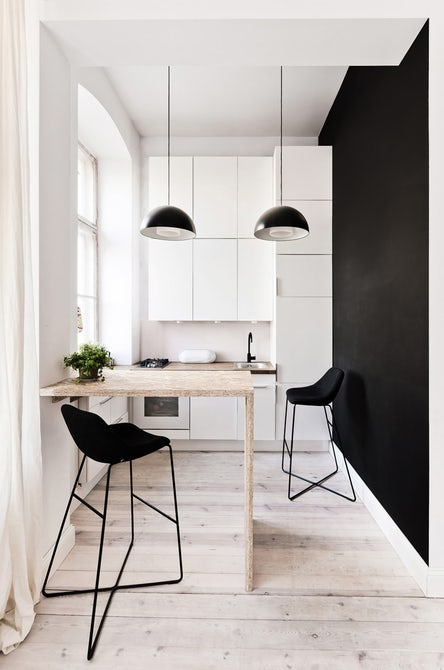 Cucina Stretta E Lunga – Idea d\'immagine di decorazione