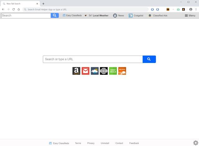 Search.heasyclassifieds.co (Hijacker)