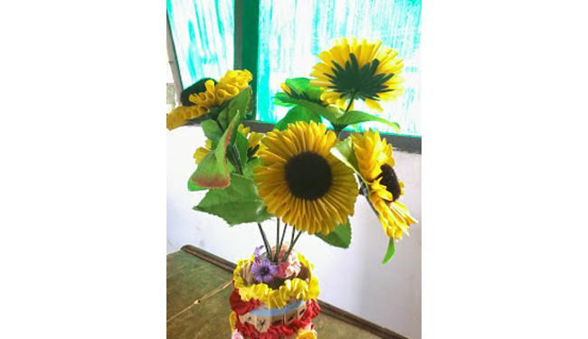 Cara Membuat Aneka Kreasi Bunga Dari Sedotan Cara Craft