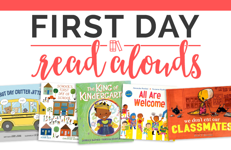 Back to school & first day of school read alouds for kindergarten, first grade, and second grade.