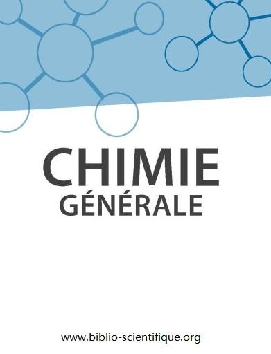 Livre : Chimie générale - Licence, PACES, CAPES PDF