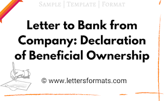 beneficial ownership declaration format