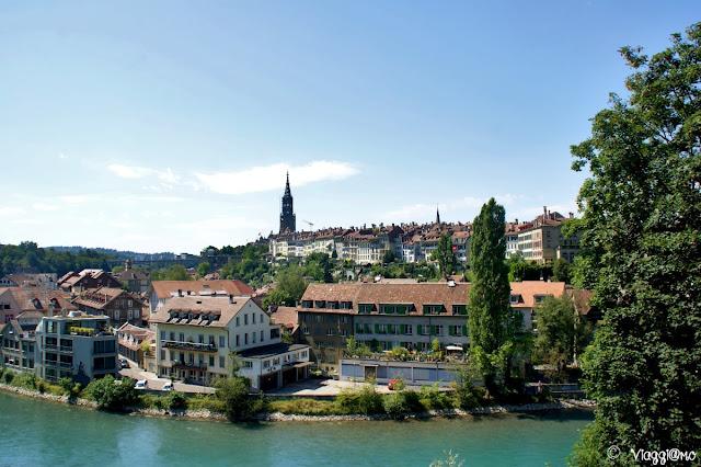 Vista sulla città di Berna