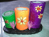 Vas Bunga dari Bubur Kertas