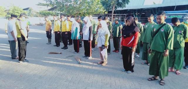 Nganjuk Nyawji Guyub Rukun,Dibuktikan oleh Warga Sukomoro Dalam Giat Kerjabhakti