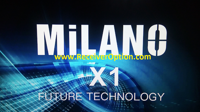 MILANO X1 1506TV 512 4M NEW SOFTWARE WITH HAHA CAM & G SHARE PLUS OPTION