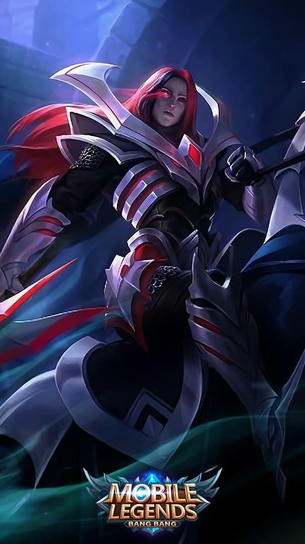 Wallpaper Leomord Phantom Knight Skin Mobile Legends Full HD for Mobile