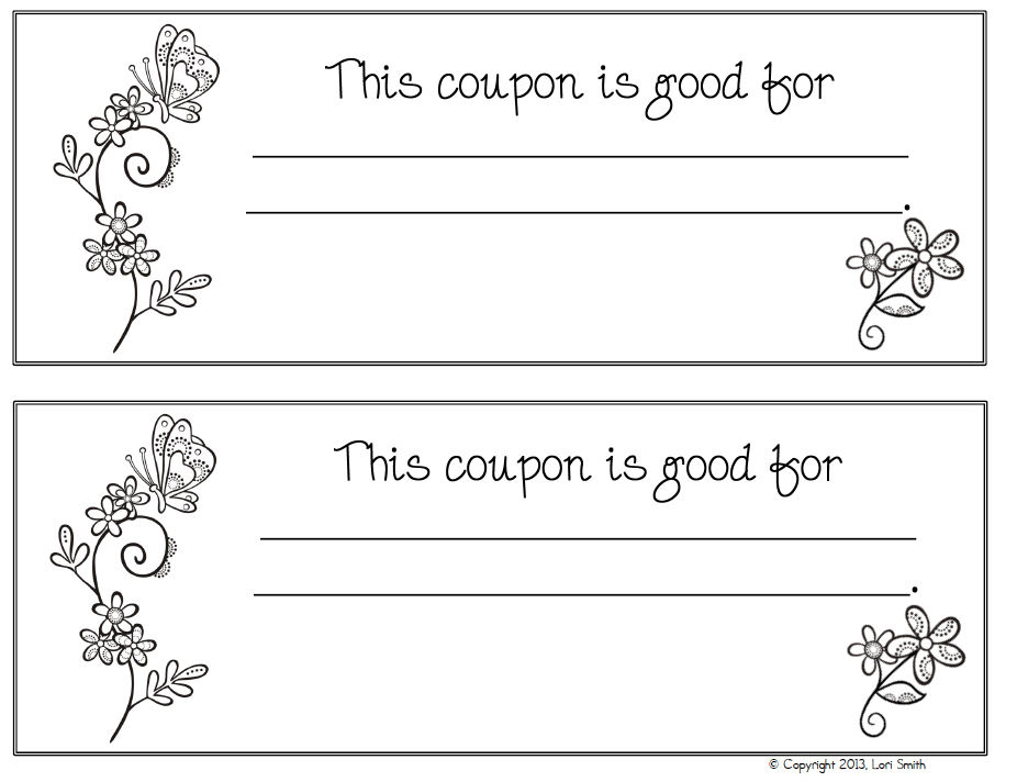 Diy Coupon Book Template the rest of the tabs are labeled for – Coupon Book Template