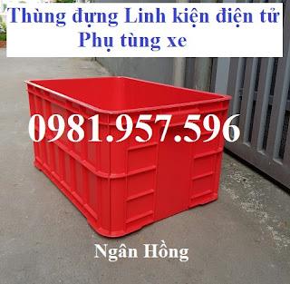Sóng nhựa Bít 3T1, thùng nhựa đặc 3T1, thùng nhựa đặc cao 31, thùng nhựa công nghiệp giá rẻ, thùng nhựa đựng đồ, thùng nhựa đựng linh kiện, thùng nhựa đựng phụ tùng.