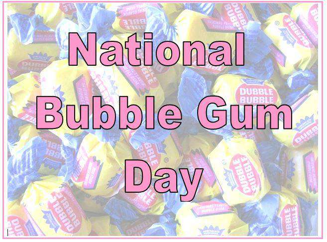 National Bubble Gum Day Wishes