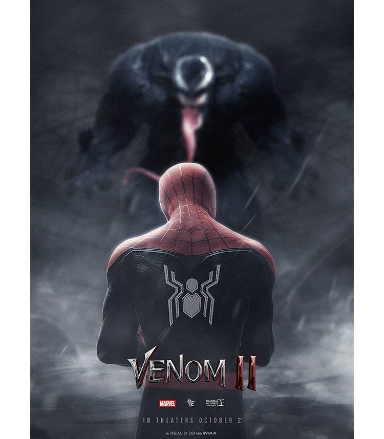 Fã cria arte incrível do Homem-Aranha no Universo de Venom