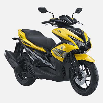 Spesifikasi dan Harga Yamaha Aerox 155 VVA Terbaru