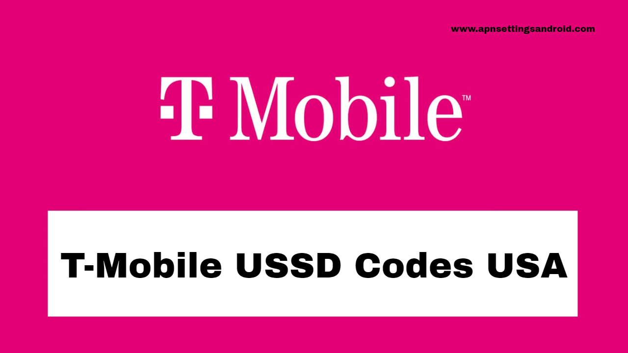 T-Mobile USSD Codes USA
