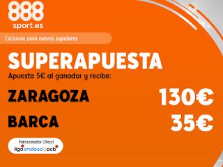 888sport superapuesta acb Zaragoza vs Barcelona 27 octubre 2019