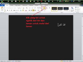 Cara Mengetik Huruf Arab Di Komputer
