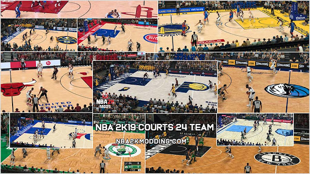 NBA 2K19 Courts