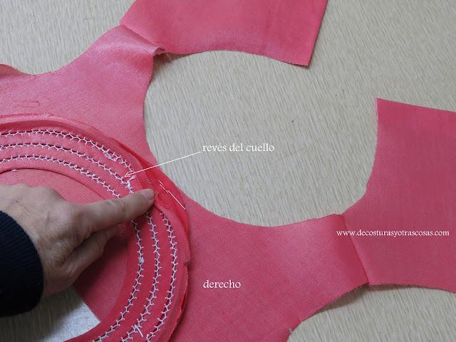 como coser un bies con costura oculta