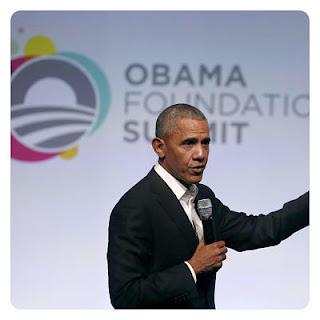 Obama rompe 'cultura del despertar' en evento de Fundación