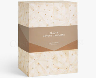 JOHN LEWIS BEAUTY ADVENT CALENDAR 2019 spoilers and contents
