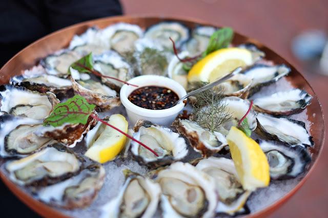 Seafood at the 2020 program launch Australian Maritime Museum Sydney