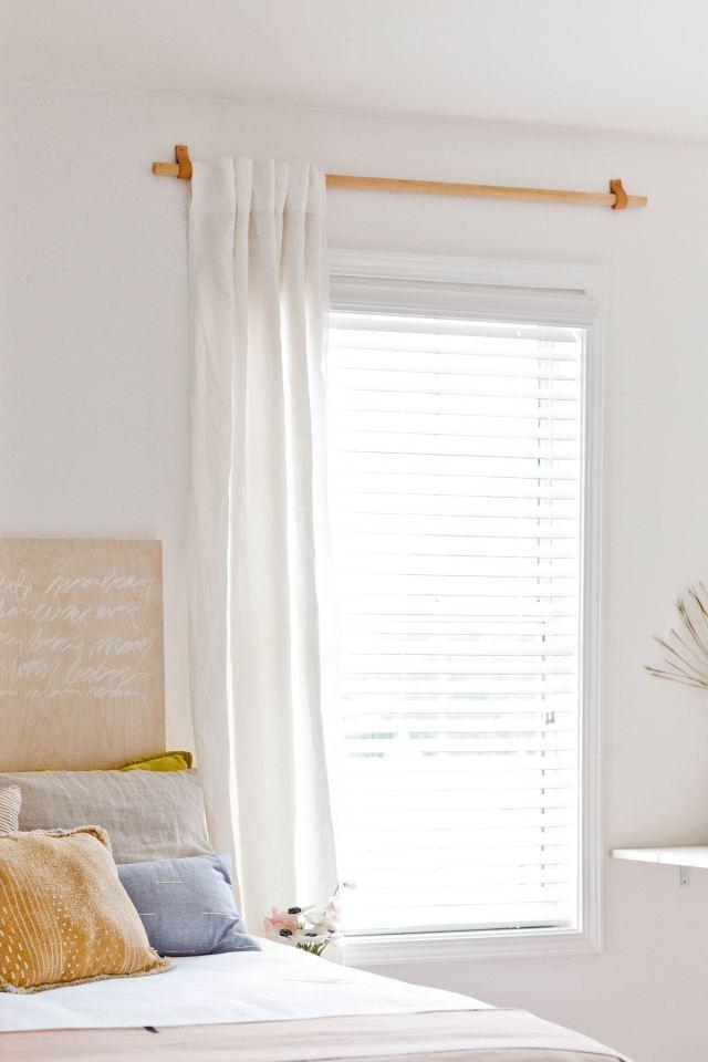 Se volete privacy in camera da letto o al bagno senza rinunciare alla. Diy Bastone Per Tende Fai Da Te Economico