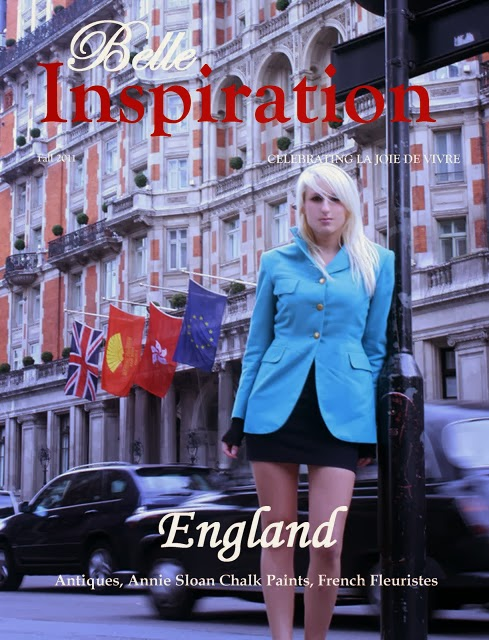 Featured in Belle Inspiration Magazine