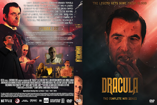 Dracula The Complete Mini Series DVD Cover