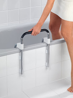 Fotografía de una barra para la bañera