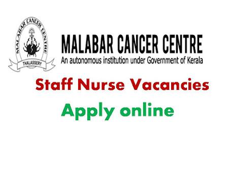 MCC Staff Nurse Govt jobs in kerala, Staff Nurse Jobs, Nursing Jobs, Malabar, Recruitment,