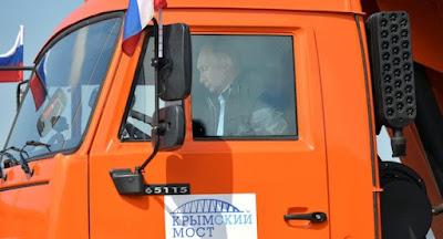 Путин торжественно открыл Керченский мост