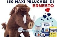 Logo Con Brioschi vinci 150 maxi peluche Ernesto