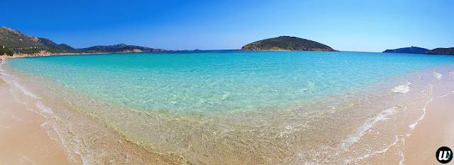 Tuerredda beach panorama, Teulada | Sardinia, Italy | wayamaya