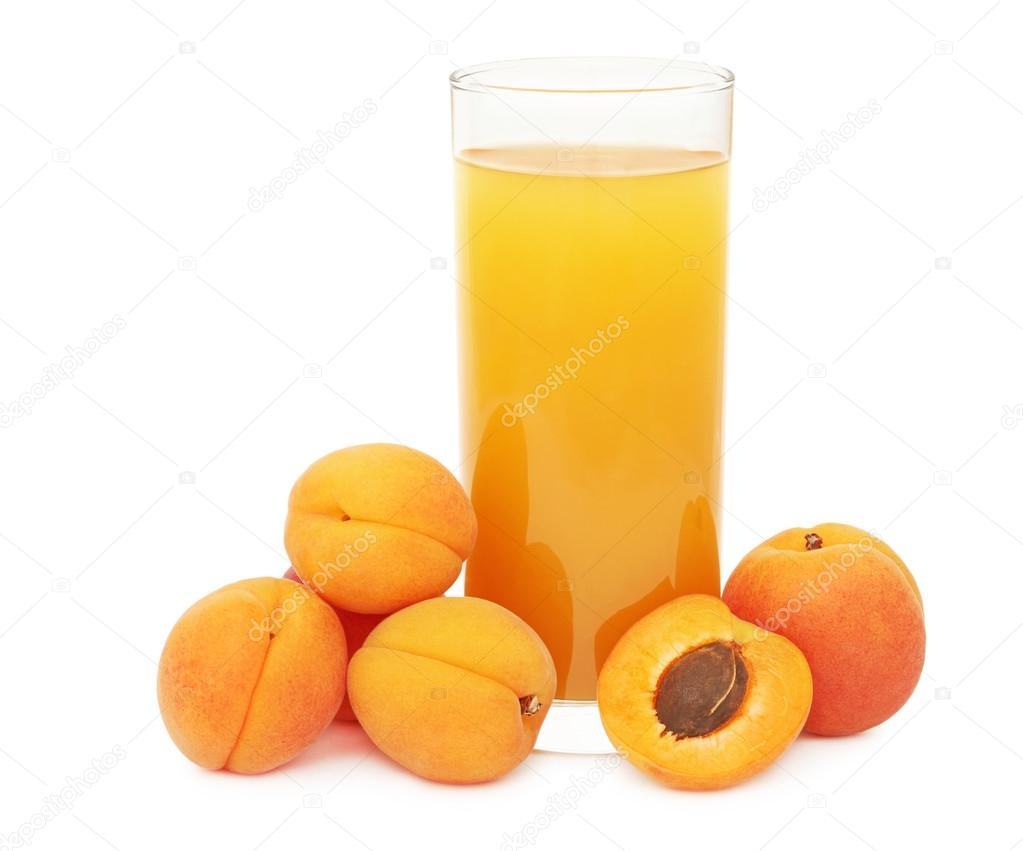 Method of action of refreshing apricot juice